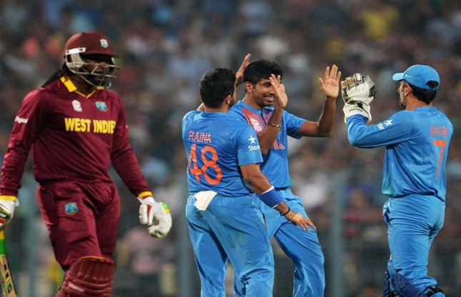 विश्व कप वॉर्म अप मैच में भारत वेस्ट इंडीज को 45 रन से हराया