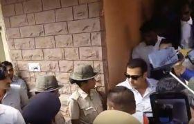 #JODHPUR:सलमानखानने कहा, मैंनिर्दोषहूं, देखिए वीडियो