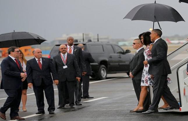 88 साल बाद ओबामा बने क्यूबा पहुंचने वाले पहले अमरीकी राष्ट्रपति