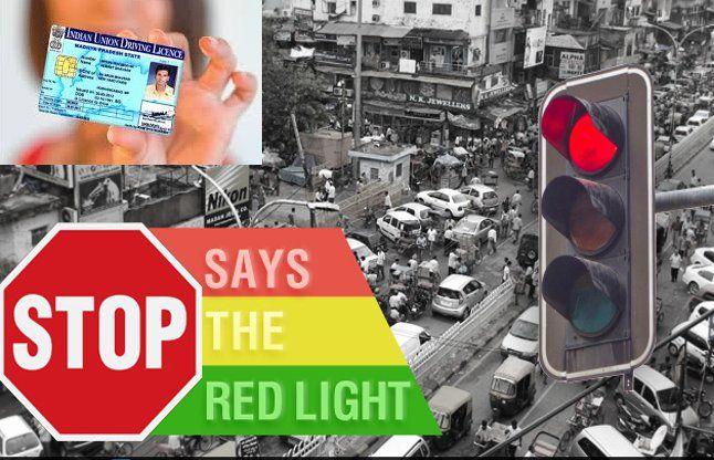 अब लाल बत्ती क्रोस की तो लाइसेंस 6 महीनो के लिए होगा निलंबित
