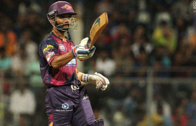 IPL-9: रहाणे ने छक्का लगाकर दिलाई पुणे को शानदार जीत
