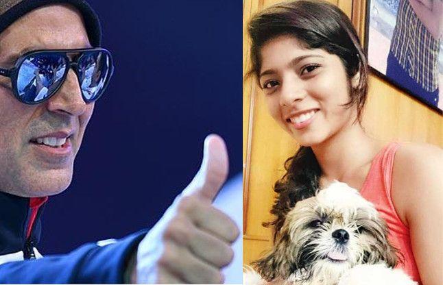 अक्षय कुमार को अपनी 19 साल की छात्रा पर इसलिए है गर्व