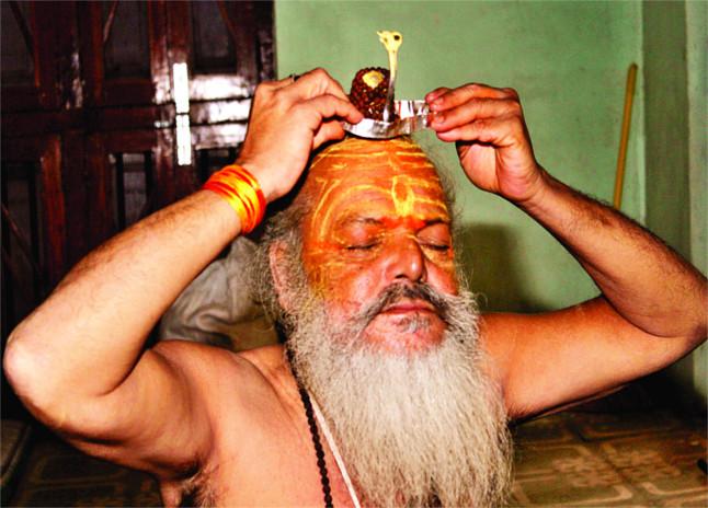 lord in sadhus box