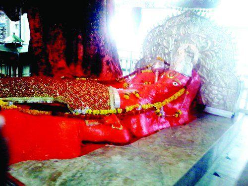 जामसांवली मंदिर में रुद्राभिषेक