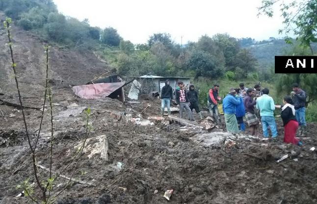 अरुणाचल प्रदेश के तवांग में भूस्खलन से 17 की मौत