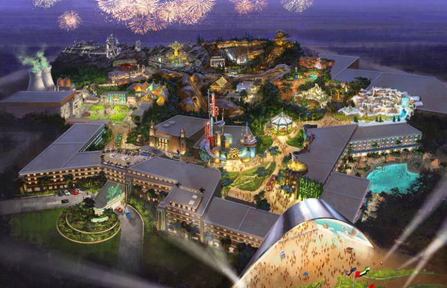 दुबई में दुनिया का सबसे विशाल इंडोर मनोरंजन पार्क अगस्त में