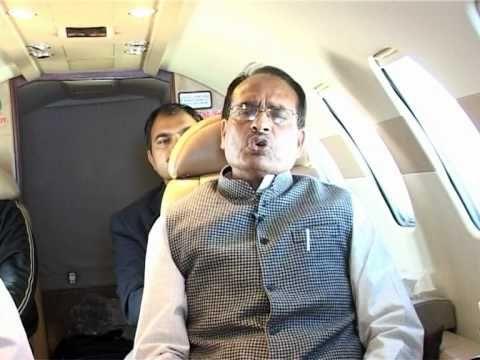 CM शिवराज का हेलीकॉप्टर रास्ता भटका, मुश्किल से उतर सका
