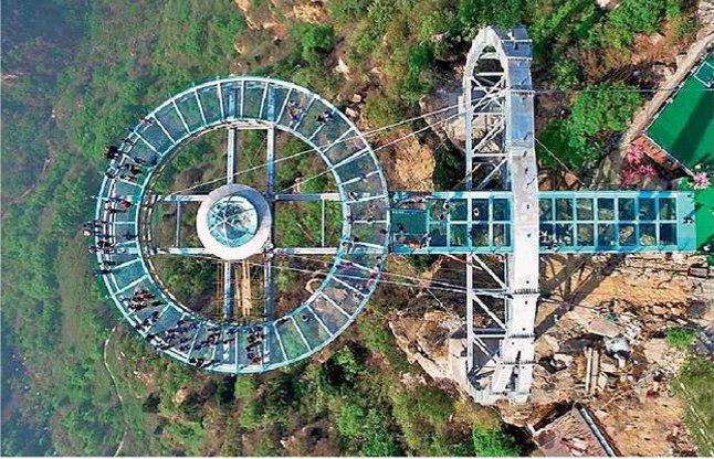 largest glass viewing platform china