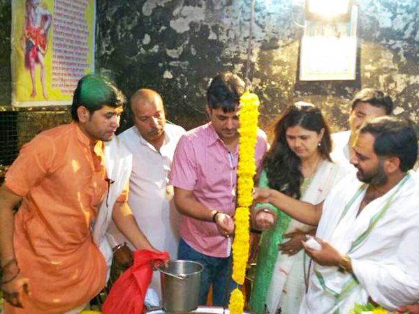 Maharashtra minister Pankaja Gopinath Munde visite