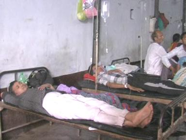 आजमगढ़ में डायरिया का प्रकोप, कई लोग बीमार