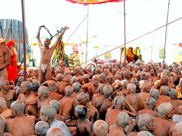 Process of turning of thousands saints into khooni