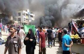 बगदादः कार बम धमाके में 64 की मौत, IS ने ली हमले की जिम्मेदारी
