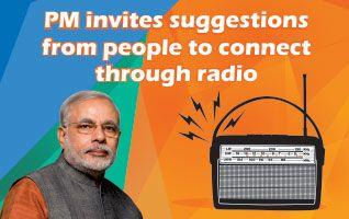 प्रधानमंत्री मोदी से अब आप करिए मन की बात