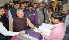 BREAKING NEWS प्रधानमंत्री मोदी को अंधेरे में रख खादी प्लाजा की रख रहे थे नींव
