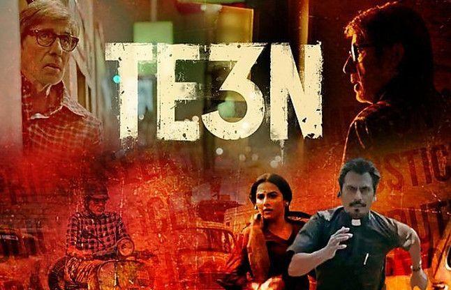 Movie Review: रहस्य, रोमांच से भरपूर अमिताभ, नवाज , विद्या की 'TE3N'
