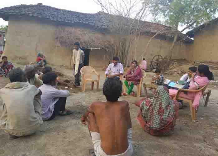 रिसर्च टीम ने सूखे बुंदेलखंड में गुजारे तीन दिन, देखा लोगों का दुख-दर्द
