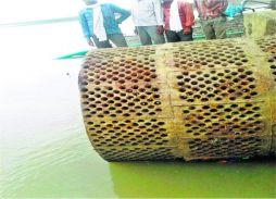 हैवी पंप का इंस्टॉलेशन शुरू, जल्द मिलेगी जलसंकट से मुक्ति