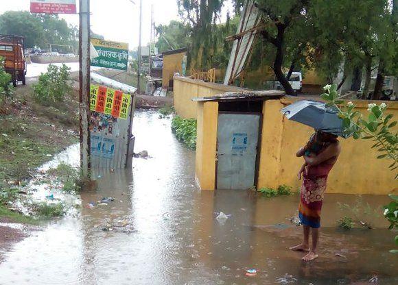 आषाढ़ की पहली बारिश से जिला तरबतर