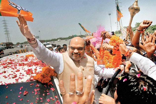 अमित शाह के स्वागत की तैयारियां तेज, भाजपामय होगा जौनपुर