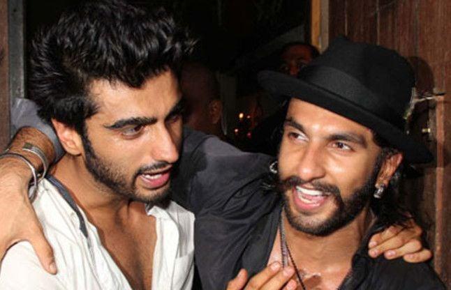 Image result for रणवीर सिंह और अर्जुन कपूर की दोस्ती