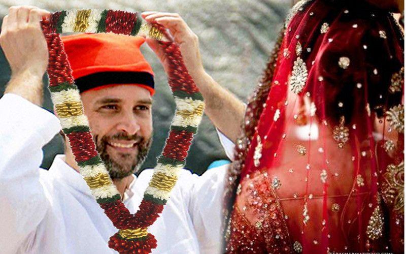 rahul gandhi will marriage with brahmin girl wife name