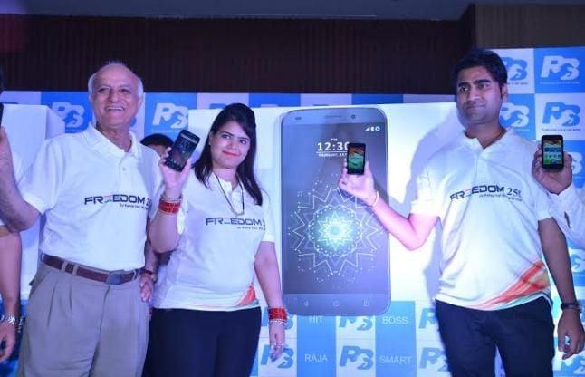 सबसे सस्ता फ्रीडम251 मोबाइल लॉन्च करने वाली रिंगिंग बेल्स कंपनी के मालिकों पर केस