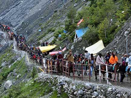 कश्मीर बवाल में फंसे चंदौली के अमरनाथ यात्री