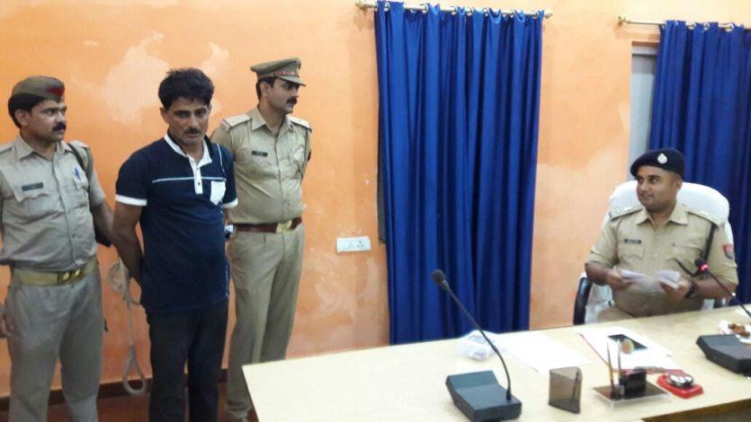 जौनपुर से गिरफ्तार हुआ ' मि. नटवरलाल ' का बाप