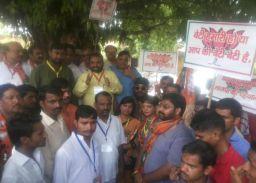 BJP ने 'बेटी के सम्मान में भाजपा मैदान में' के जरिए किया बसपा का विरोध
