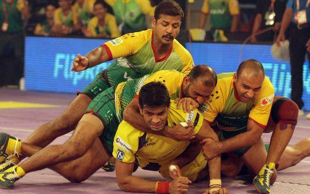 पटना पाइरेट्स ने तेलुगू टाइटंस को 35-29 से पीटा