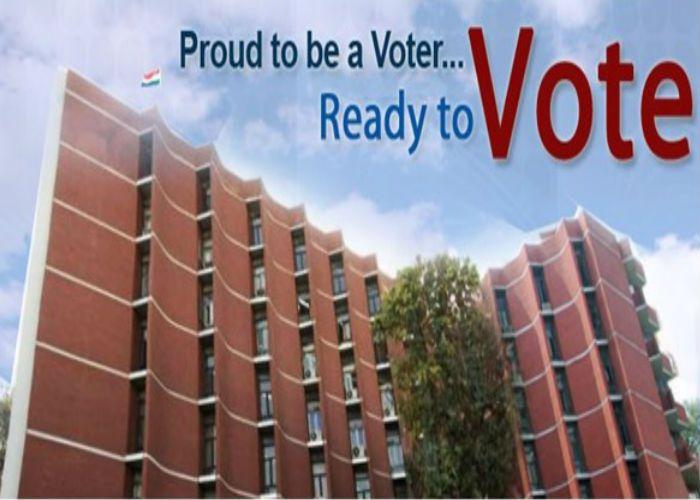 नुक्कड़ नाटक कर बताए मतदान के फायदे