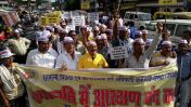 आरक्षण: पदोन्नति में आरक्षण के विरोध में निकाली विशाल रैली