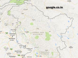 गूगल मैप के इंडियन वर्जन में पीओके, बलूचिस्तान भारत का हिस्सा