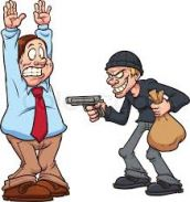 घर में घुस कर असलहे के बल लूट लिया कारोबारी को