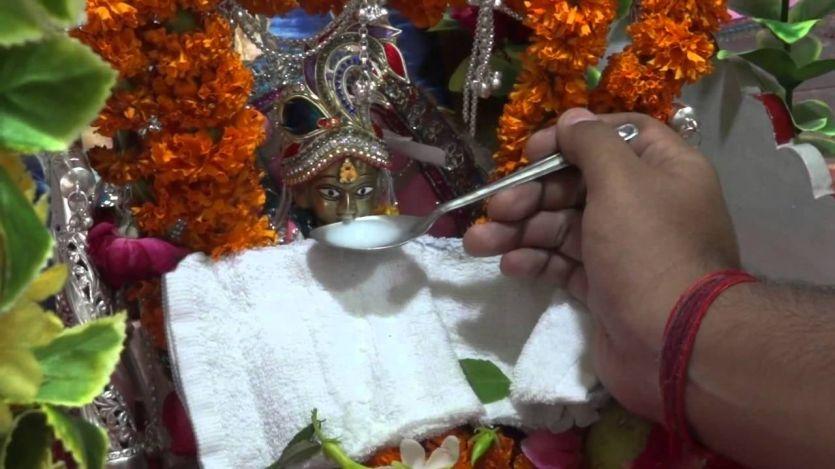 #Krishna Janmashtami घरों में पधारे लड्डू गोपाल