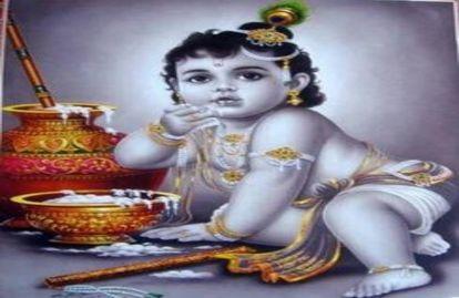 माखन चोर भगवान 'श्री कृष्ण' के आने का इंतजार, झांकियां सजकर तैयार