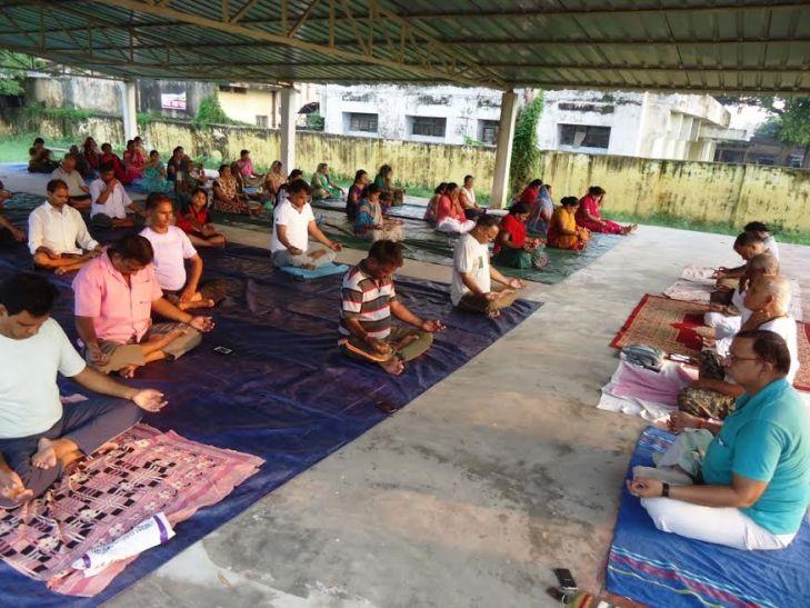 आजमगढ़ मेंपतंजलि योग शिविर का आयोजन