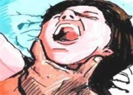 पेट में पल रहे मासूम का भी नहीं किया ख्याल, दहेज के लिए घोंट दिया विवाहिता का गला