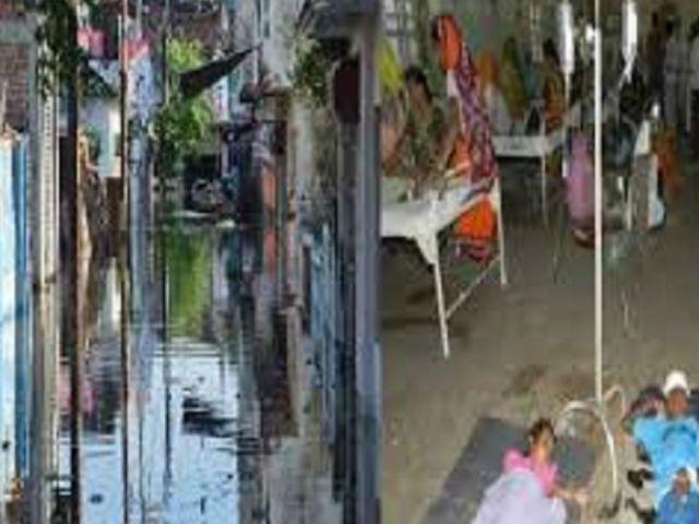 बाढ़ के बाद शुरू हुआ बिमारियों का तांडव, अब कहां जाएं लोग