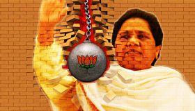 आजमगढ़ रैली के बाद BJP का पलटवार, कहा- डिप्रेशन में हैं माया