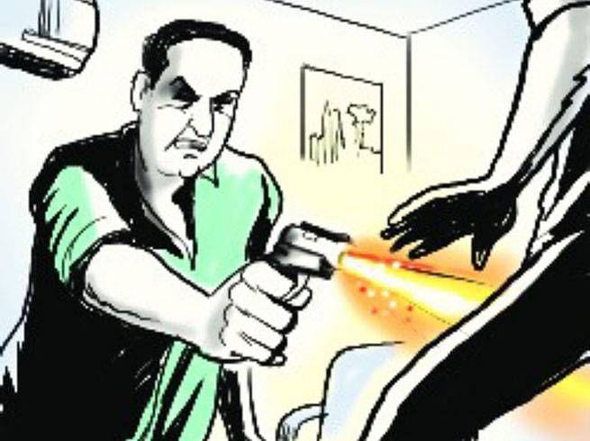 बदमाशों ने वाणिज्य विभाग के ऑडिटर को मारी गोली