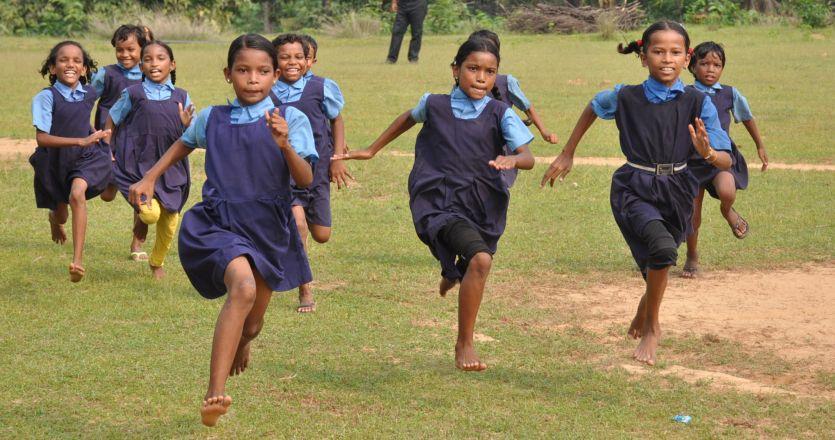 तहसीलस्तरीय खेल प्रतियोगिता के लिए छात्रों ने किया अभ्यास