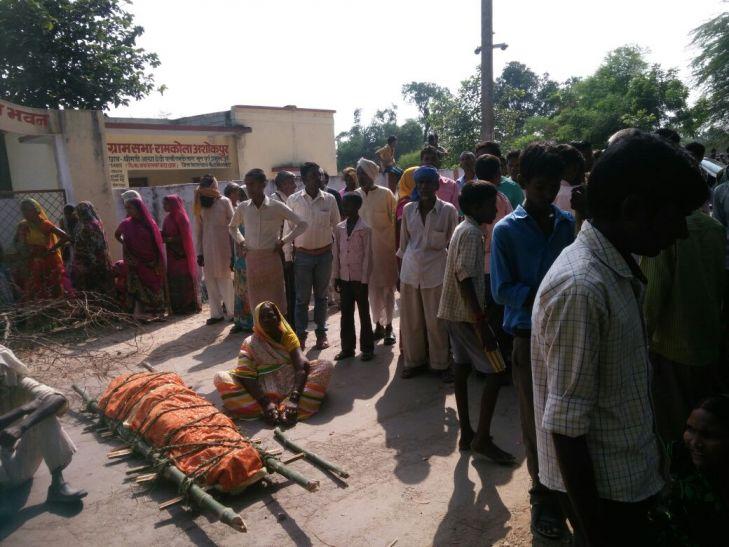 BREAKING: दलित युवक की मौत पर मचा बवाल, फोर्स तैनात