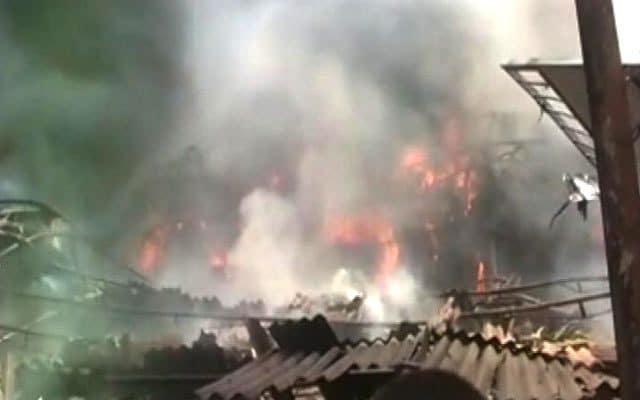 कहीं साजिश के तहत तो नहीं लगाई गई जौनपुर एआरटीओ कार्यालय में आग ?