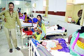 निमोनिया: 24 घंटे के भीतर तीन बच्चों की मौत, 60 अस्पताल में भर्ती