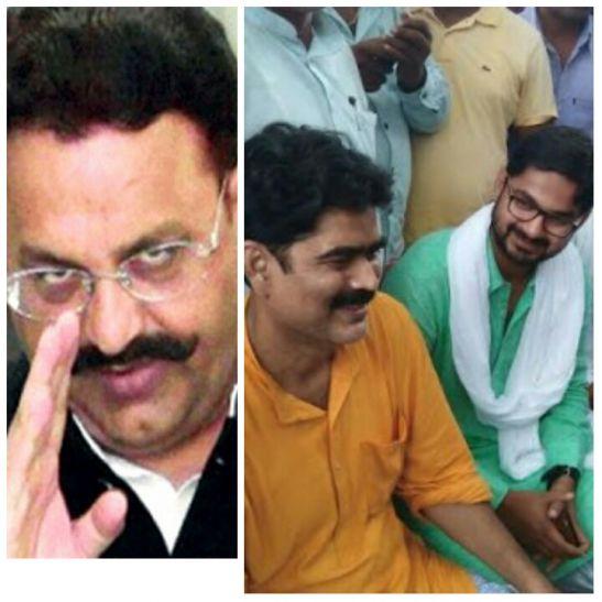 बाहुबली मोख्तार ने कुख्यात शहाबुद्दीन को भेजी बधाई, गरमाई पूर्वांचल की राजनीति