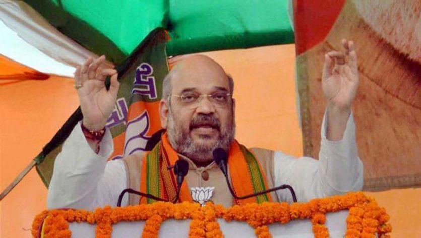 राहुल की राह पर अमित शाह, दलितों के साथ करेंगे लंच