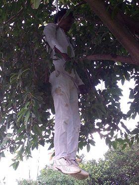 BREAKING: पेड़ से लटकता मिला व्यक्ति का शव, हत्या या आत्महत्या ?