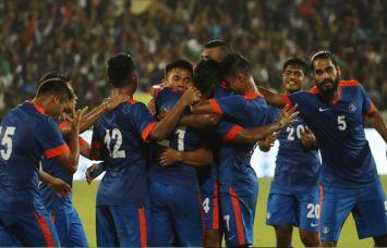 फुटबाल : विश्व रैंकिंग भारत को 4 स्थान का फायदा