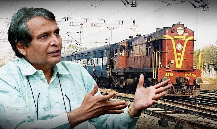 नोटबंदी का रेलवे पर कोई असर नहीं : सुरेश प्रभु